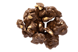 Cluster of Chocolate Peanut Clusters.