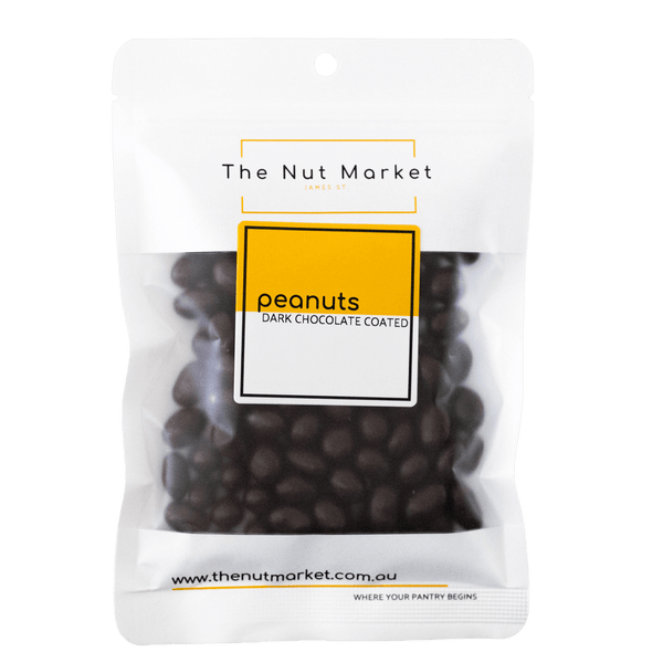 Peanuts Dark Chocolate Coated