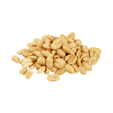 A small heap of Dry Roasted Peanuts .