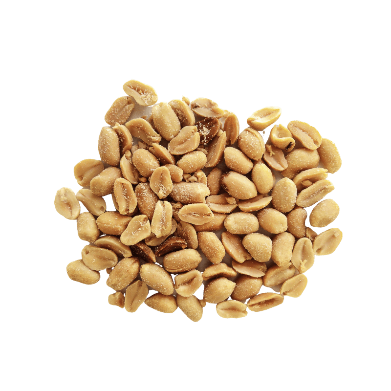 Small cluster of Peanuts Roasted and Salted.
