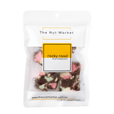 Rocky Road Milk Chocolate in 150g Nut Market Packet.