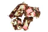 Chunk of Rocky Road Milk Chocolate.