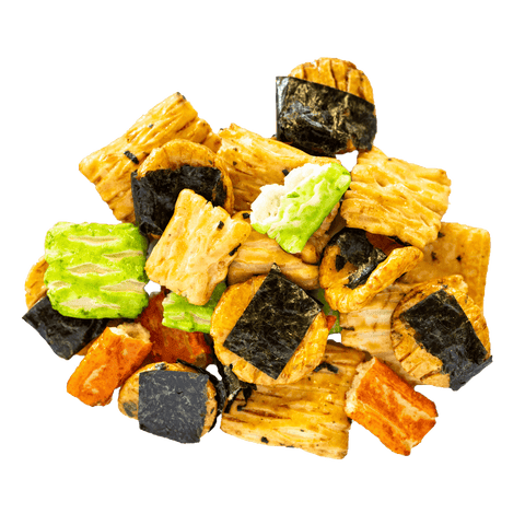 Japanese Seaweed Rice Crackers