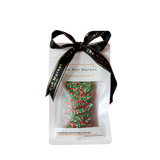 Giant Chocolate Freckles Christmas in 150g Nut Market Gift Bag.