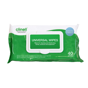Clinell Universal Sanitising Wipes x 50