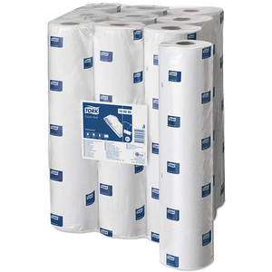White Couch Roll | Case of 9 Rolls | 48cm x 56m