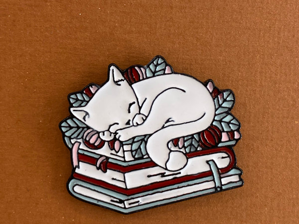 Enamel pin - Cat napping