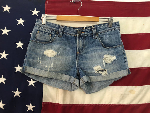 0215 Sportsgirl denim shorts