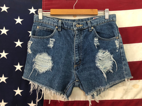 0216 Wrangler denim shorts