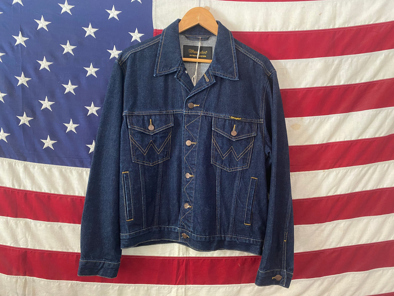 0702 Wrangler Authentic Western denim jacket