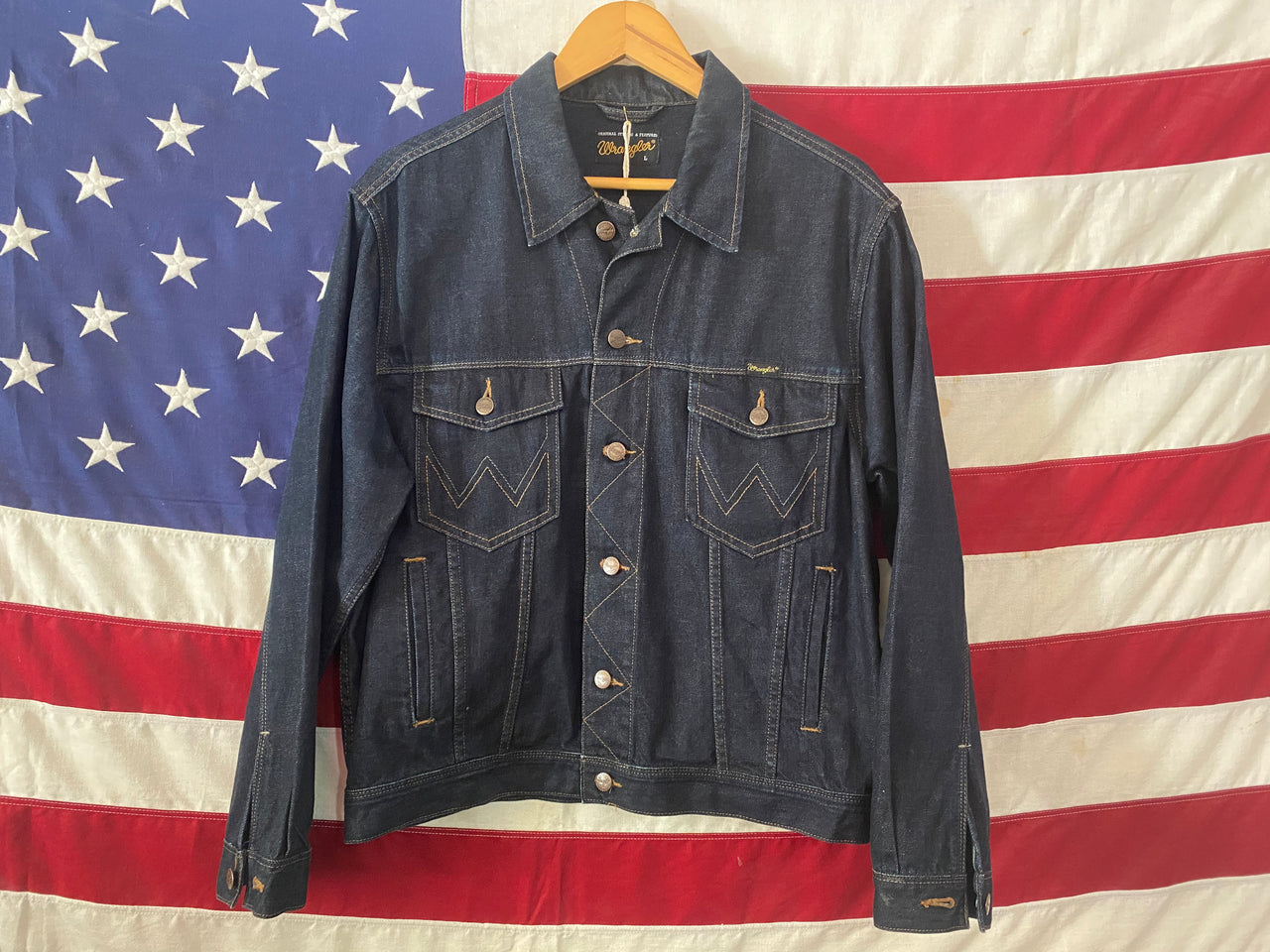0708 Wrangler denim jacket