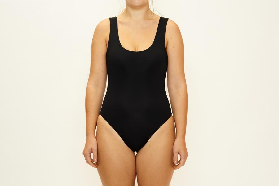 CAMP COVE Roma Full Piece - Recycled Black - Medium