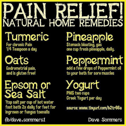 Home Remedies Pain Relief