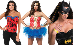 DIY Womens Superhero Party Costumes