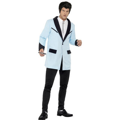 Teddy Boy Jacket - Baby Blue