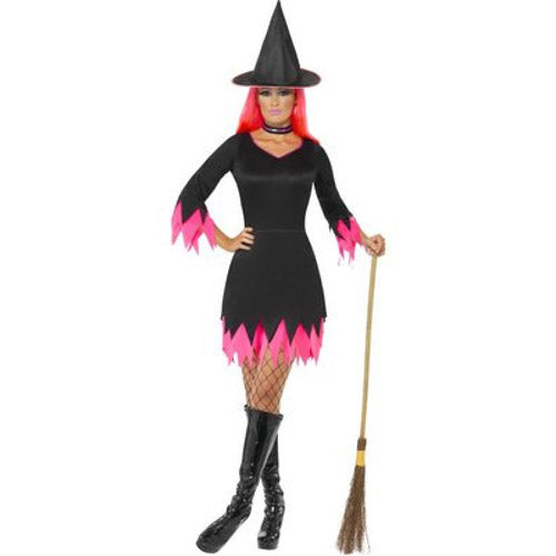 Black and Pink Witch Costume