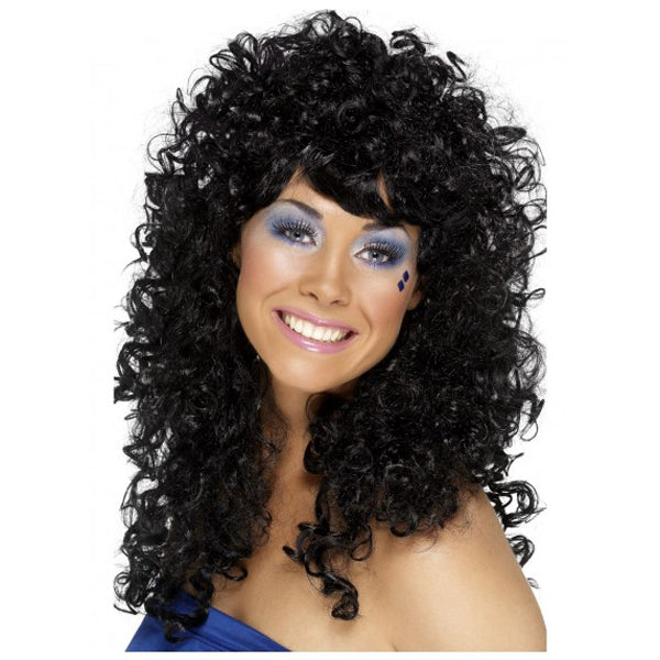 Black Boogie Babe Wig