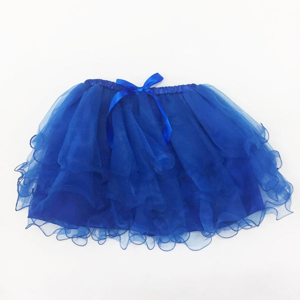 Dark Blue Tutu Skirt