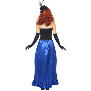 Burlesque Pin-Up Costume Back