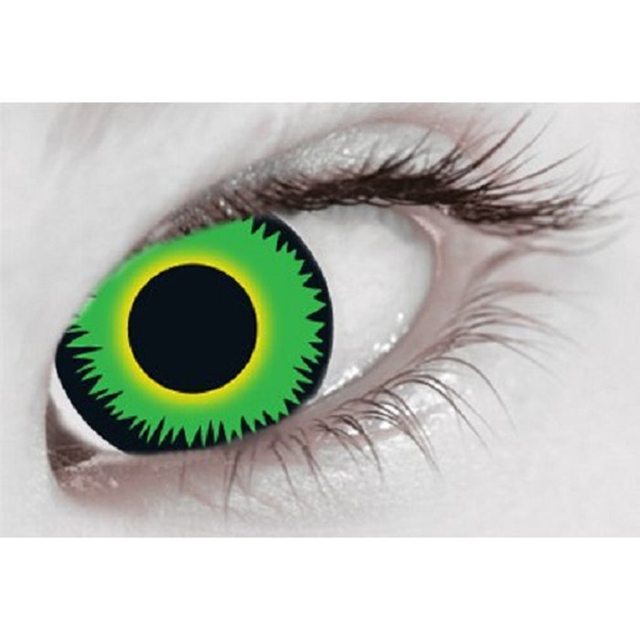 Green Warewolf Contact Lenses (1 Day)