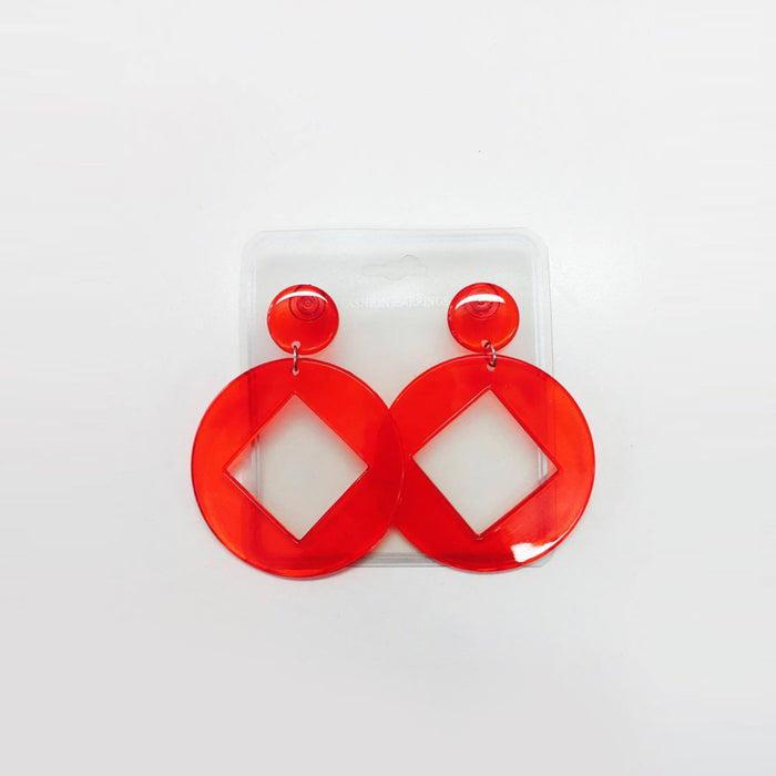 Earrings - Red