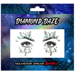 Face Jewels - White Witch