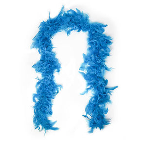 Feather Boa - Light Blue