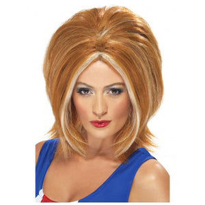 Ginger Girl Power Wig