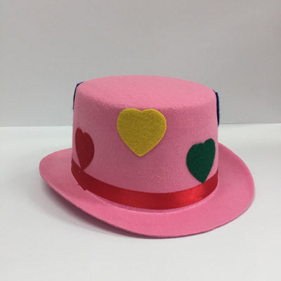 Pink Clown Top Hat