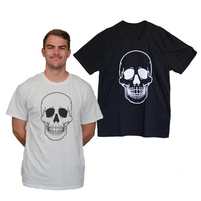 Men's Skull T-Shirt - White