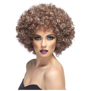 Natural Brown Afro Wig