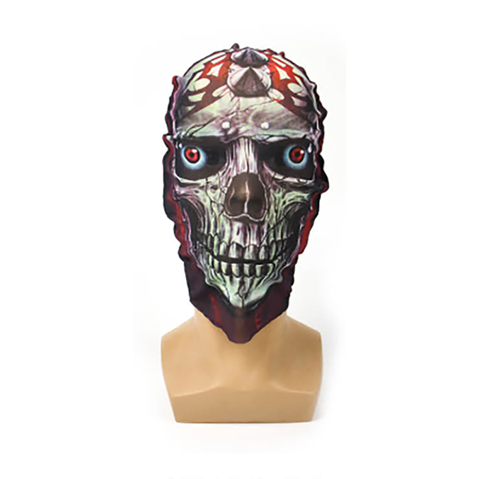 Printed Face Mask - Studded Skull