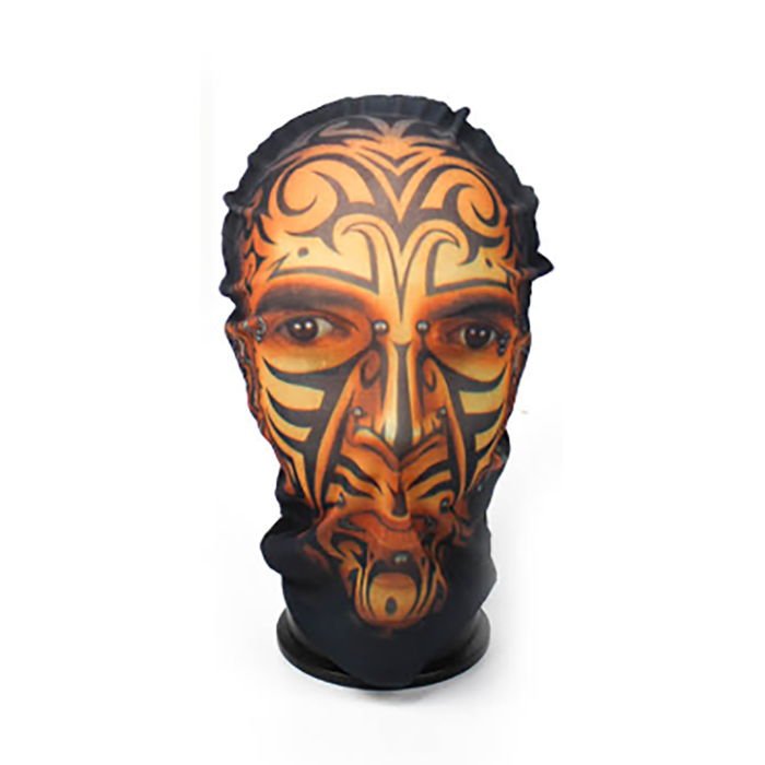 Printed Face Mask - Tattoo Man
