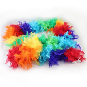 Feather Boa - Rainbow