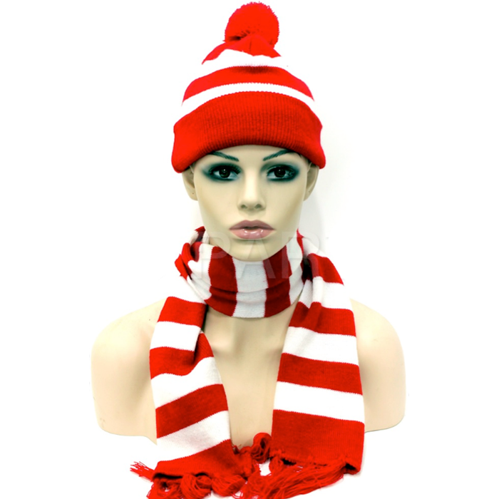 Where's Wally Beanie and Scarf Set
