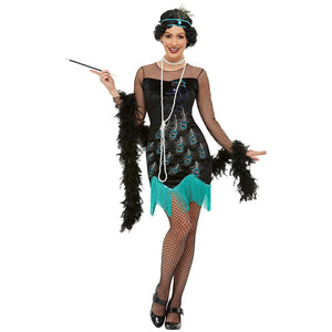 1920's Peacock Flapper Costume