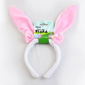 Pink Bunny Ears with Bow