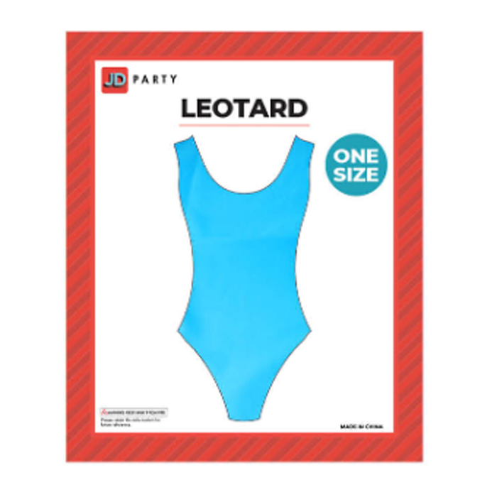 Aerobics Leotard - Blue