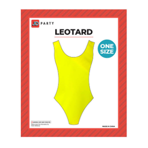 Aerobics Leotard - Yellow