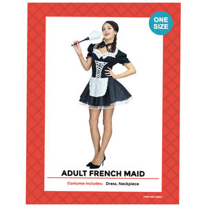 Adult Deluxe French Maid Costume