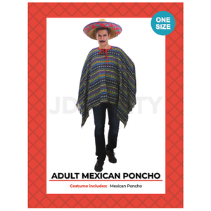 Mexican Adult Poncho