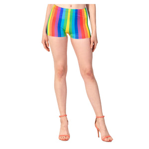 Adult Rainbow Hot Pants