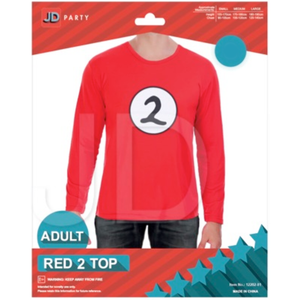 Adult Thing 2 Red Top