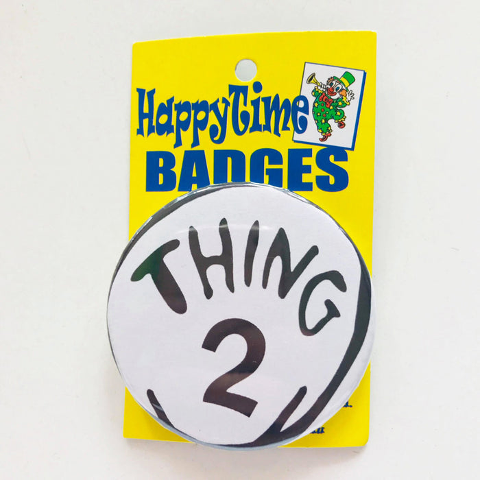 Thing 2 Badge