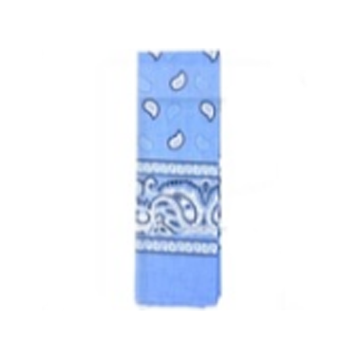 Bandana - Pattern Light Blue