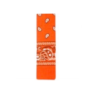 Bandana Pattern Orange