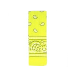 Bandana Pattern Yellow