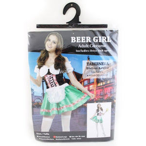 Oktoberfest Beer Girl Green