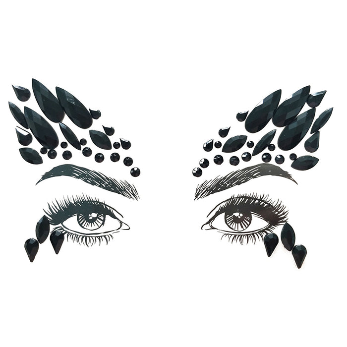 Face Jewels - Black Swan