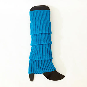 Light Blue Legwarmers